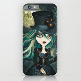 Raven's Moon iPhone Case