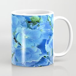 Elegant Blue Hydrangea Coffee Mug