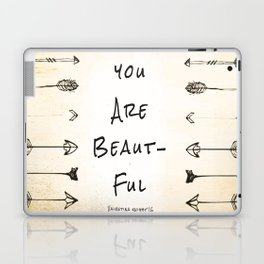 "Evolve ""You Are Beautiful"" Laptop & iPad Skin"