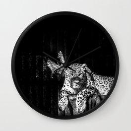 Leopardo Wall Clock