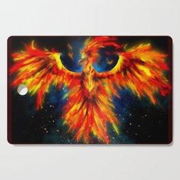 Phoenix Flame Cutting Board