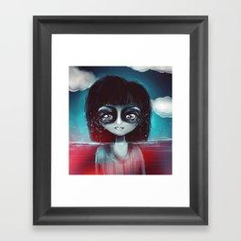 What lies Framed Art Print
