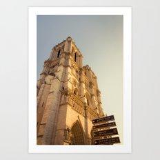 Paris Cathedral Notre Dame  Art Print