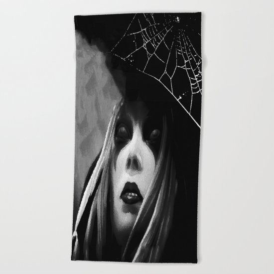 Banshee Queen Beach Towel
