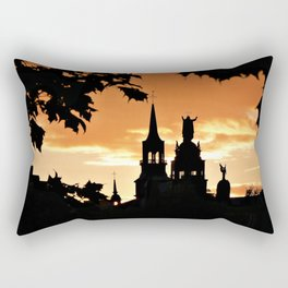 Sunset in Old Montreal Rectangular Pillow