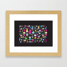 my kawaii world Framed Art Print