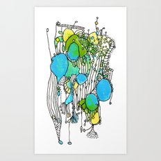 Flurry Art Print