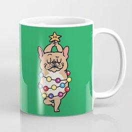 French Bulldog Merry Christmas Coffee Mug