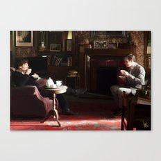 Tea-time Canvas Print