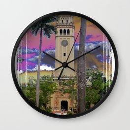 University of Puerto Rico - Main tower Rio Piedras Wall Clock