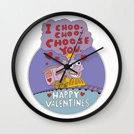 I CHOO CHOO CHOOSE YOU Wall Clock