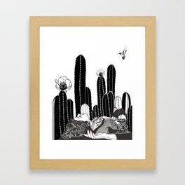 Desert Dreaming Framed Art Print