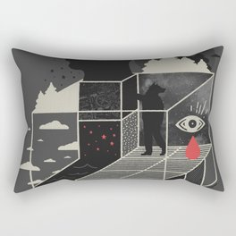 Lucid Screaming Rectangular Pillow