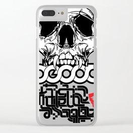 Decoy skl Clear iPhone Case