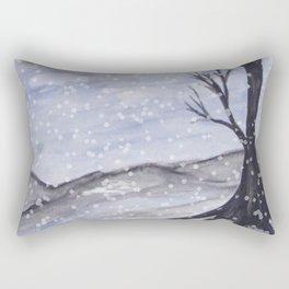 Bare Winter Mix Rectangular Pillow