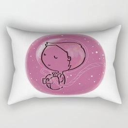 Little astronaut Rectangular Pillow