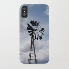 Left to the Elements...Abandoned Windmill iPhone X Slim Case