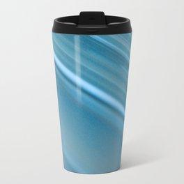 LINES OF BLUE #1 #decor #art #society6 Travel Mug