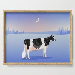 Holstein // Winter Serving Tray