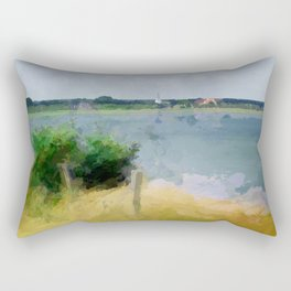The best place for relaxing - Amrum Rectangular Pillow