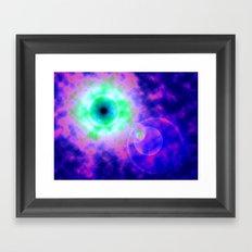 Space Eye Framed Art Print