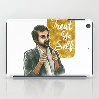 treat yo self iPad Cases featuring Treat yo self! by Tiffany Willis