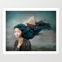Message from the Sea Art Print