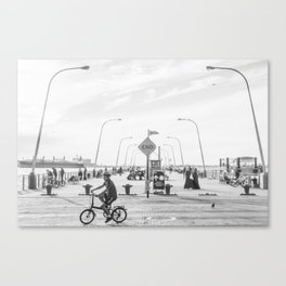 69th Street Pier Canvas Print