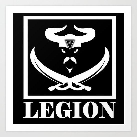 LEGION Art Print