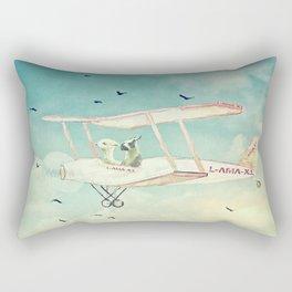 ALPACAS EXPLORING III - THE SKY Rectangular Pillow