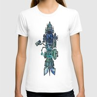 spaceship T-shirts featuring Spaceship  by Joseph Kennelty