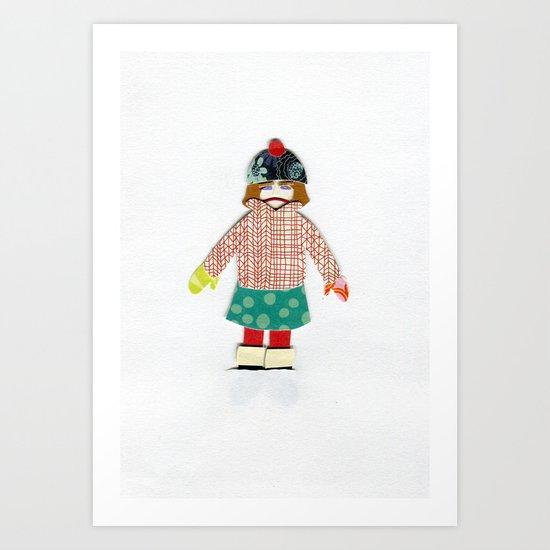 Kicked Outside Art Print