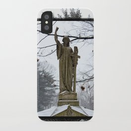 M'Lady in the Snow iPhone Case