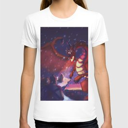 He raised his sword T-shirt