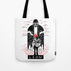 Leon & Mathilda Tote Bag