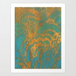Drawing Meditation Stencil 1 - Print 10 Art Print
