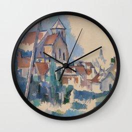 Church at Montigny-sur-Loing Wall Clock