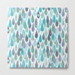 Let it Rain II Metal Print