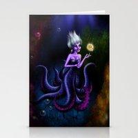 ursula Stationery Cards featuring Ursula by Callie Clara