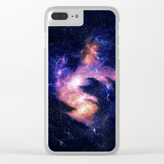 Rise of the phoenix Clear iPhone Case