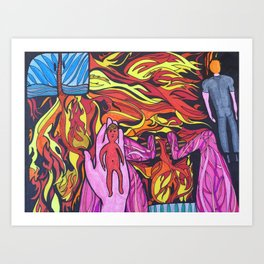 Birth of Vivian Art Print