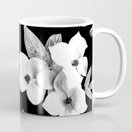 Night bloom - moonlit bw Coffee Mug