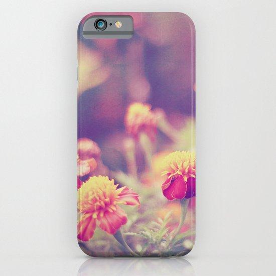 Retro Vintage style - flowers iPhone & iPod Case