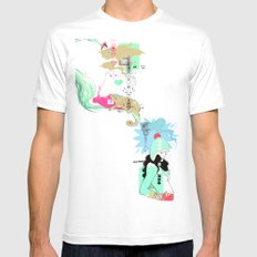 Funky s*!t Mens Fitted Tee White MEDIUM