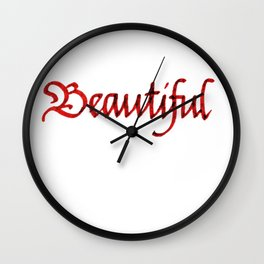 Beautiful Wall Clock