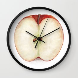 Half Apple Wall Clock