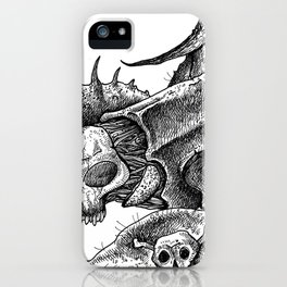 HELL'S ZODIAC - SCORPIO iPhone Case