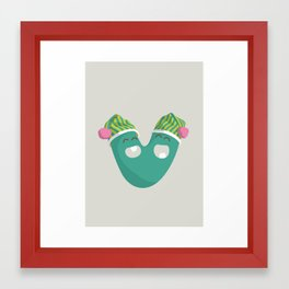 letter V Framed Art Print