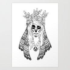 Calavera Art Print