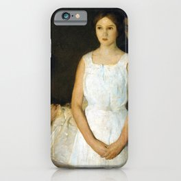 Charles W. Hawthorne The Trousseau iPhone Case